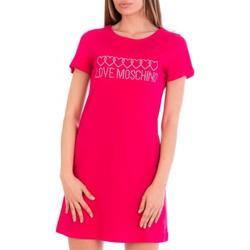 Abbigliamento Donna Abiti corti Love Moschino W592915M3876 Fuxia