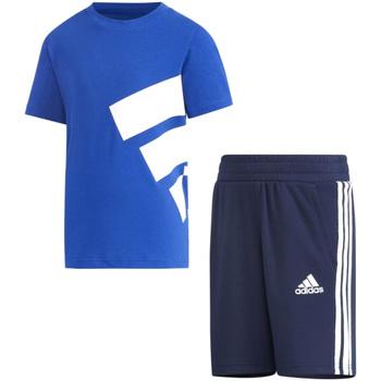 Abbigliamento Bambino Completo adidas Originals - Tuta azzurro GP0387 AZZURRO