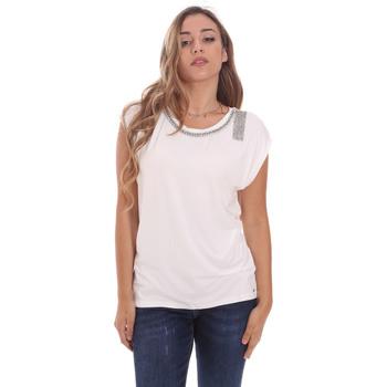 Abbigliamento Donna T-shirt maniche corte Gaudi 111FD64023 Bianco
