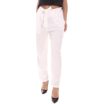Abbigliamento Donna Pantaloni Gaudi 111BD25034 Bianco