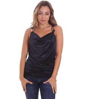 Abbigliamento Donna Top / T-shirt senza maniche Gaudi 111FD44001 Blu