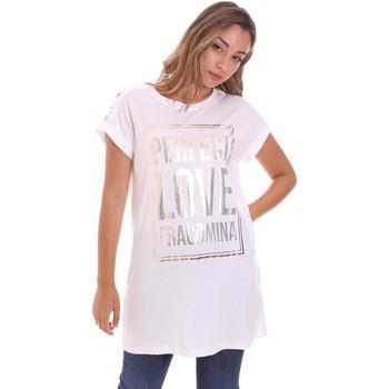 Abbigliamento Donna T-shirt maniche corte Fracomina FR21ST3012J40615 Bianco