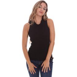 Abbigliamento Donna Top / Blusa Fracomina FR21ST4001K43301 Nero