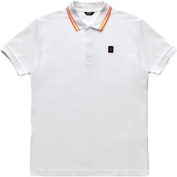 Abbigliamento Uomo Polo maniche corte Refrigiwear RM0T24000PX9032 Bianco