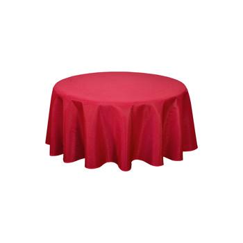 Casa Tovaglia Habitable NORWICH - ROUGE - DIAM 180 CM Rosso