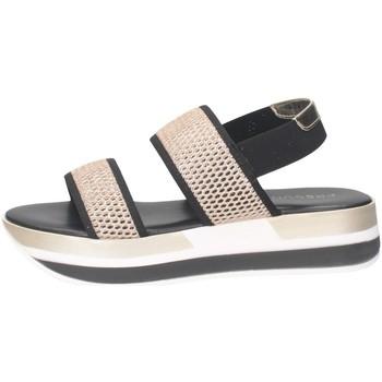 Scarpe Donna Sandali Pregunta ME2819 002 Sandalo Donna NERO/ORO NERO/ORO