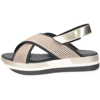 Scarpe Donna Sandali Pregunta ME2894 002 Sandalo Donna NERO/ORO NERO/ORO