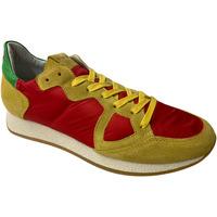 Scarpe Uomo Sneakers basse Philippe Model ATRMPN-28725 Rosso