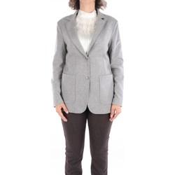 Abbigliamento Donna Giacche / Blazer Fabiana Filippi GDC220W205-C485 Blazer Donna Grigio Grigio
