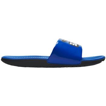 Scarpe Bambino ciabatte Nike Kawa Slide Fun- Ciabatta ragazzo                           blu