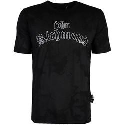 Abbigliamento Uomo T-shirt maniche corte John Richmond  Nero