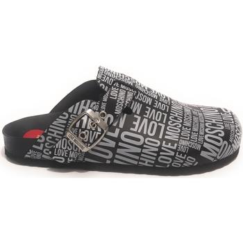 Scarpe Donna Pantofole Moschino SABOT Black