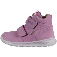 Scarpe Unisex bambino Sneakers alte Superfit Breeze Rosa