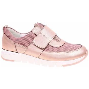 Scarpe Donna Sneakers basse Waldläufer 908301200202 Oro, Rosa