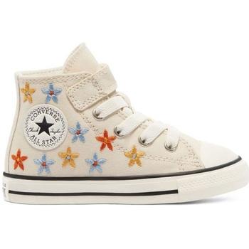 Scarpe Bambina Sneakers alte Converse All Star Spring Flowers Hi- bambina                           beige