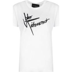 Abbigliamento Donna T-shirt maniche corte John Richmond  Bianco