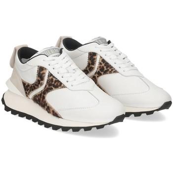 Scarpe Donna Sneakers basse Voile Blanche Qwark white leo BIANCO