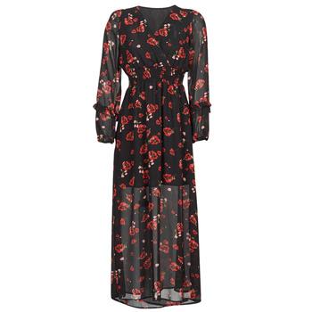 Abbigliamento Donna Abiti lunghi Moony Mood PILAF Nero / Rosso