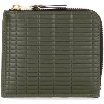 Borse Portafogli Comme Des Garcons Portafoglio  Brick Line in pelle Verde