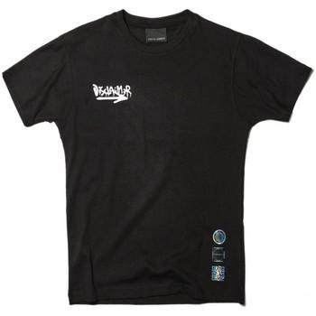 Abbigliamento Uomo T-shirt maniche corte Disclaimer Energy T-Shirt Nero Nero