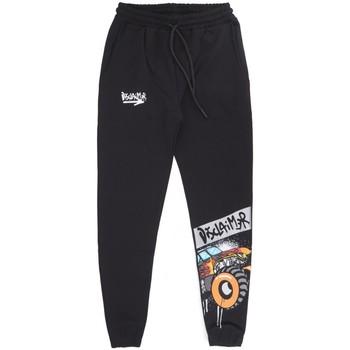 Abbigliamento Uomo Pantaloni da tuta Disclaimer Monster Truck Sweatpant Nero Nero