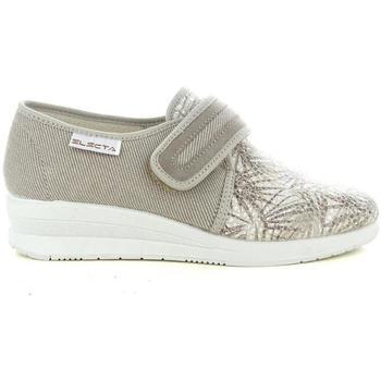 Scarpe Donna Pantofole Electa 55722 BEIGE