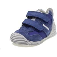 Scarpe Bambino Sneakers alte Biomecanics BIOGATEO BLU