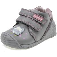 Scarpe Bambina Sneakers alte Biomecanics BIOGATEO GRIGIO