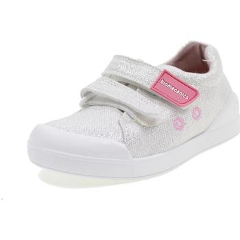 Scarpe Bambina Sneakers basse Biomecanics BIOEVOLUTION CANVAS BIANCO