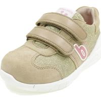Scarpe Bambina Sneakers basse Biomecanics BIOEVOLUTION BEIGE