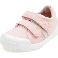 Scarpe Bambina Sneakers basse Biomecanics BIOEVOLUTION CANVAS ROSA