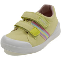 Scarpe Bambina Sneakers basse Biomecanics BIOEVOLUTION CANVAS GIALLO