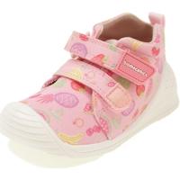 Scarpe Bambina Sneakers alte Biomecanics BIOGATEO CANVAS ROSA