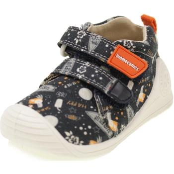 Scarpe Bambino Sneakers basse Biomecanics BIOGATEO CANVAS BLU