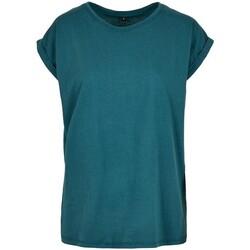 Abbigliamento Donna T-shirt maniche corte Build Your Brand Extended Blu