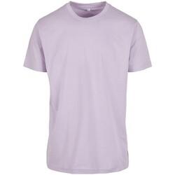 Abbigliamento Uomo T-shirt maniche corte Build Your Brand BY004 Lilla