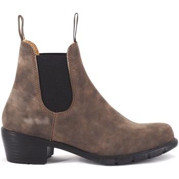 Scarpe Donna Stivaletti Blundstone 1677 Lady Heel Rustic Brown El Side Boot Marrone Marrone