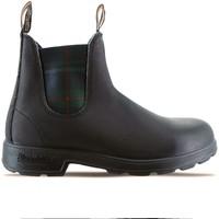 Scarpe Donna Stivaletti Blundstone Black Green Tartan Boot Nero Nero