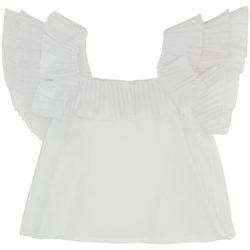 Abbigliamento Bambina Top / Blusa Dixie CAMICIA M/M GIRL White