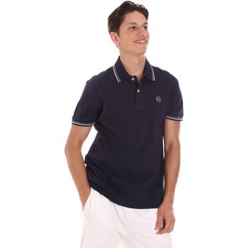Abbigliamento Uomo Polo maniche corte Museum MS21BEUPC06PT542 Blu