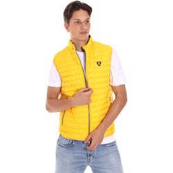 Abbigliamento Uomo Gilet / Cardigan Ciesse Piumini 215CFMV11394 N021D0 Giallo
