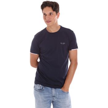 Abbigliamento Uomo T-shirt maniche corte Key Up 2S420 0001 Blu