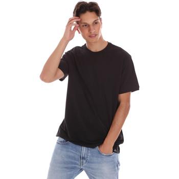 Abbigliamento Uomo T-shirt maniche corte Museum MS21BEUTC08MO938 Nero