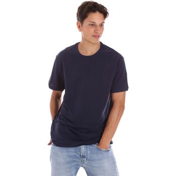 Abbigliamento Uomo T-shirt maniche corte Museum MS21BEUTC08MO938 Blu