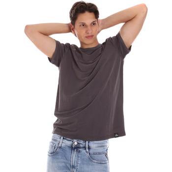 Abbigliamento Uomo T-shirt maniche corte Museum MS21BEUTC08MO938 Grigio