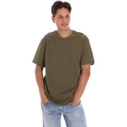 Abbigliamento Uomo T-shirt maniche corte Museum MS21BEUTC08MO938 Verde