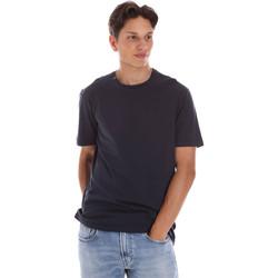 Abbigliamento Uomo T-shirt maniche corte Ciesse Piumini 215CPMT01455 C2410X Nero