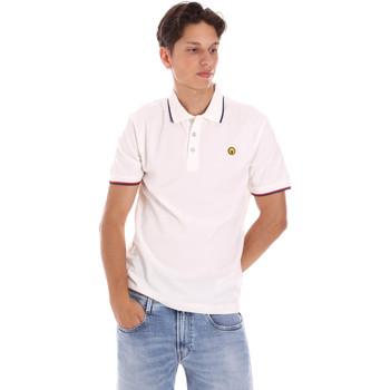 Abbigliamento Uomo Polo maniche corte Ciesse Piumini 215CPMT21423 C2510X Bianco
