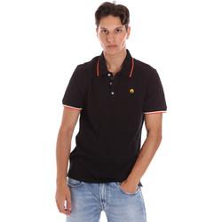 Abbigliamento Uomo Polo maniche corte Ciesse Piumini 215CPMT21423 C2510X Nero