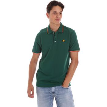 Abbigliamento Uomo Polo maniche corte Ciesse Piumini 215CPMT21423 C2510X Verde